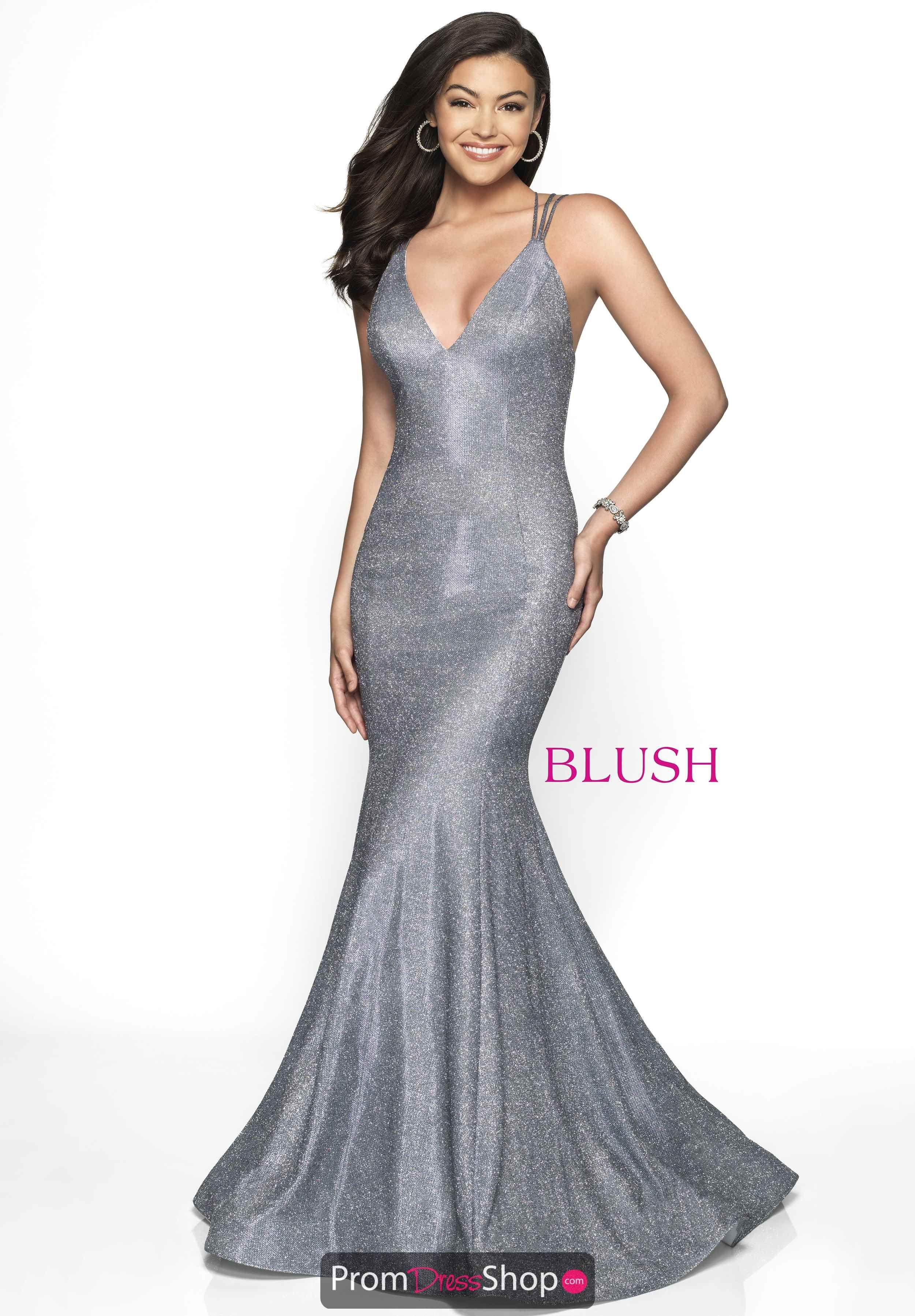 13c3de33ded98 Steel Blue Shimmer Blush 2019, Prom Dresses, Formal Dresses, Evening Dresses,  Blush