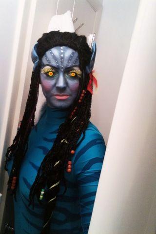 Avatar   Halloween make up   Pinterest   Avatar