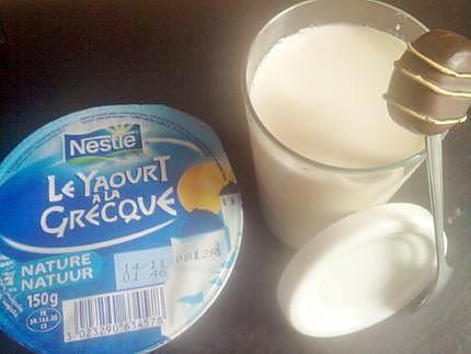 Yaourt maison la grecque recette yaourts maison pinterest yaourt yaourt maison et - Fabrication de yaourt maison sans yaourtiere ...