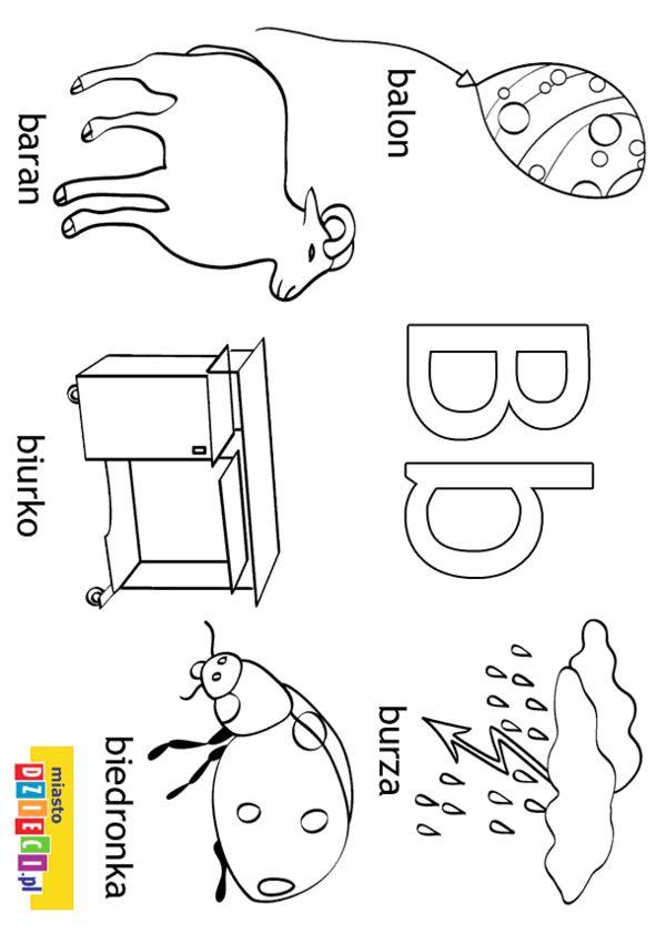 Alfabet Kolorowanki Dla Dzieci Alfabet Kolorowanki Edukacja