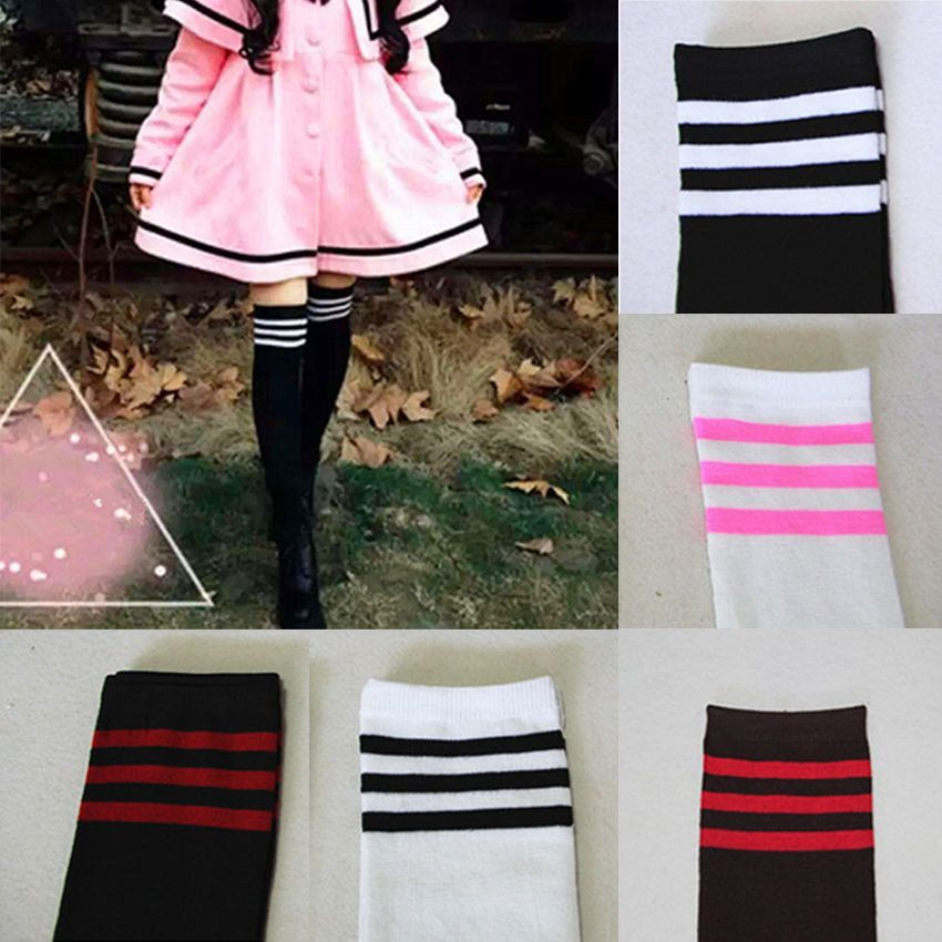 96968281d Women Cable Knit Extra Long Boot Socks Over Knee Thigh High School Girl  Stocking