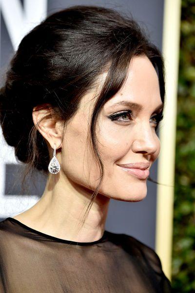 Golden Globes 2018 Die Schönsten Frisuren Im Überblick Pinterest