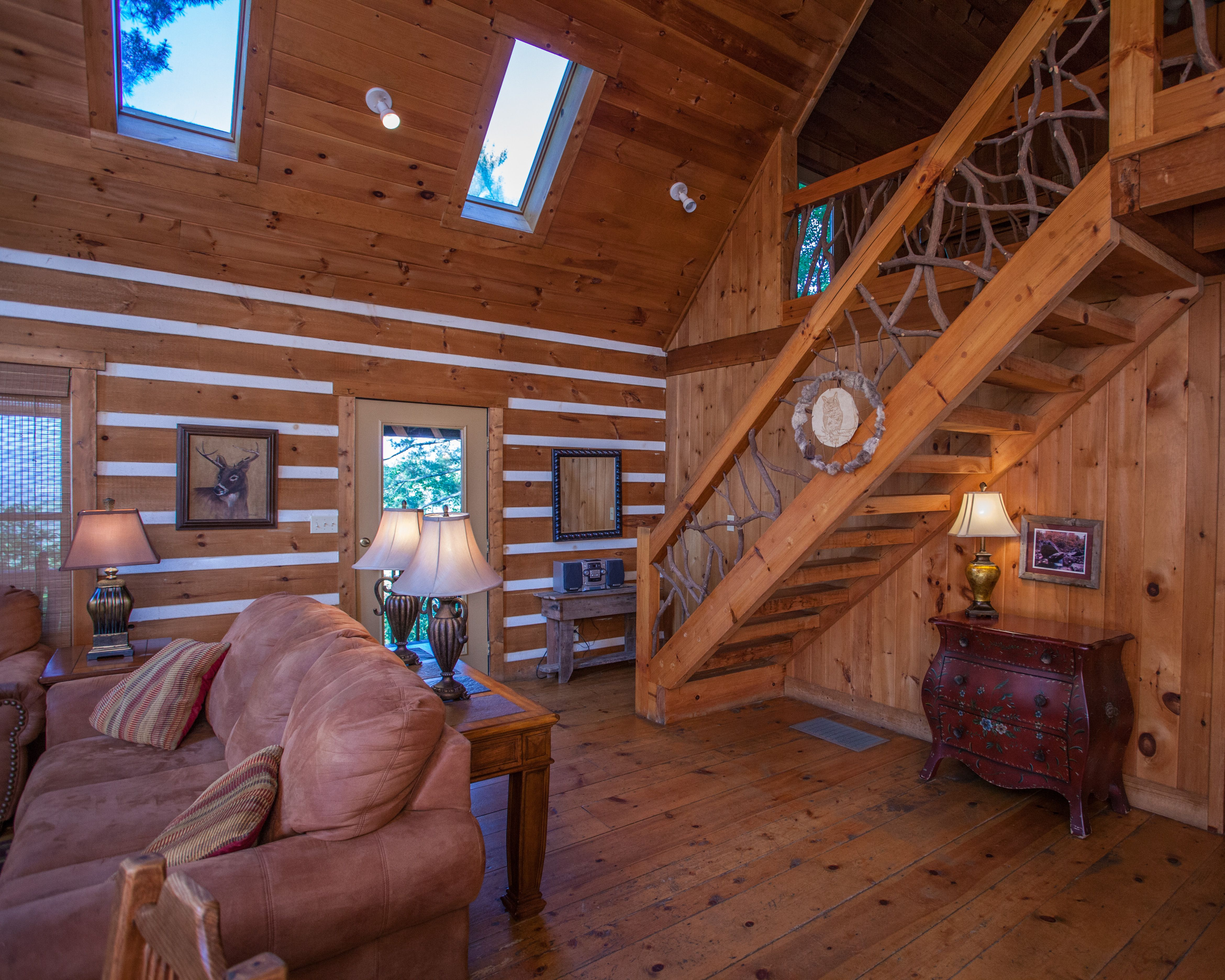 rental riverside friendly cabin cabins and helen bear creek in lodge pet sleeps at double the ga