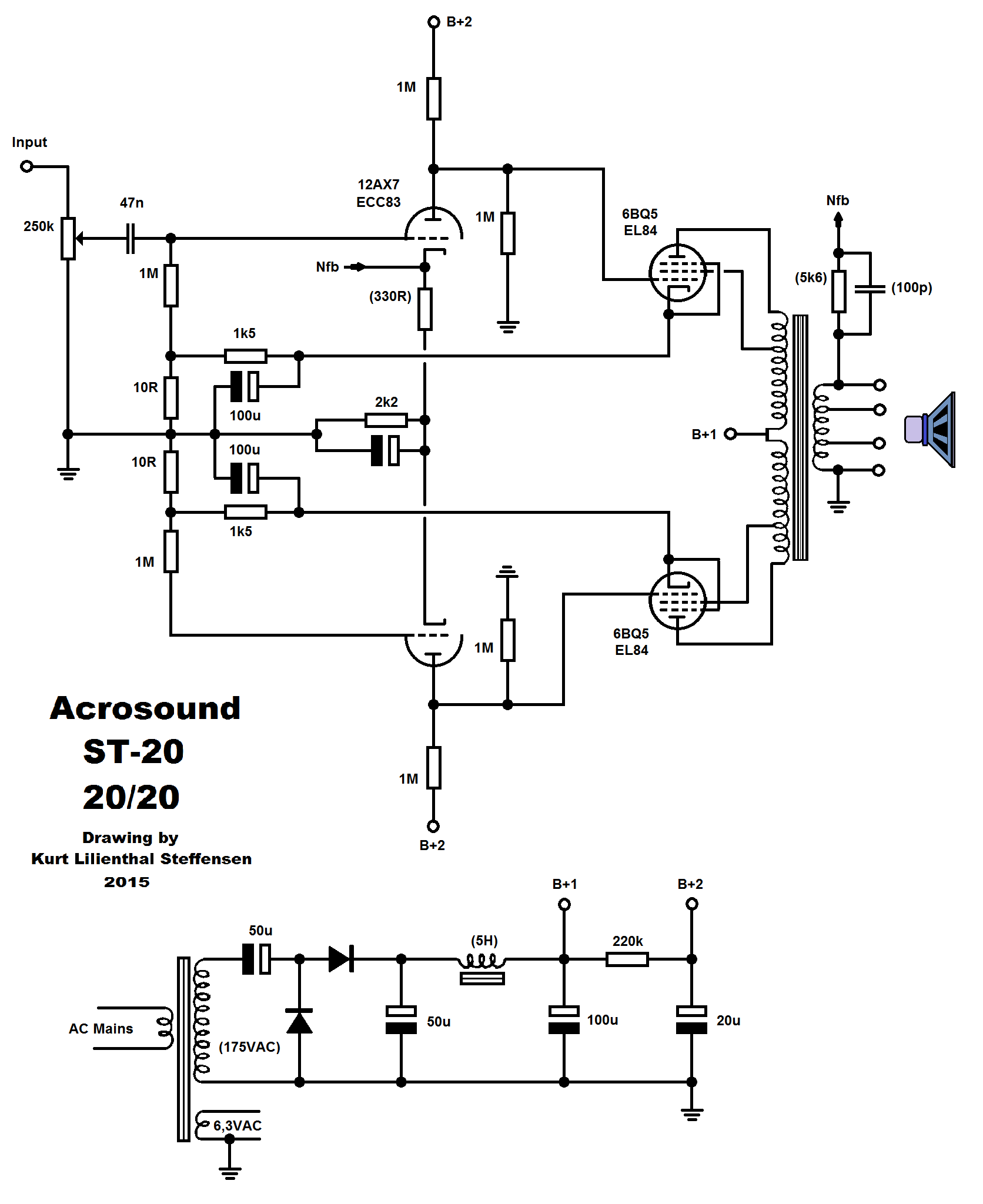 Acrosound St 20 Dc Coupled