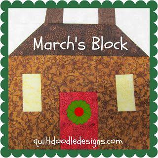 Quilt Doodle Doodles...: March's Block