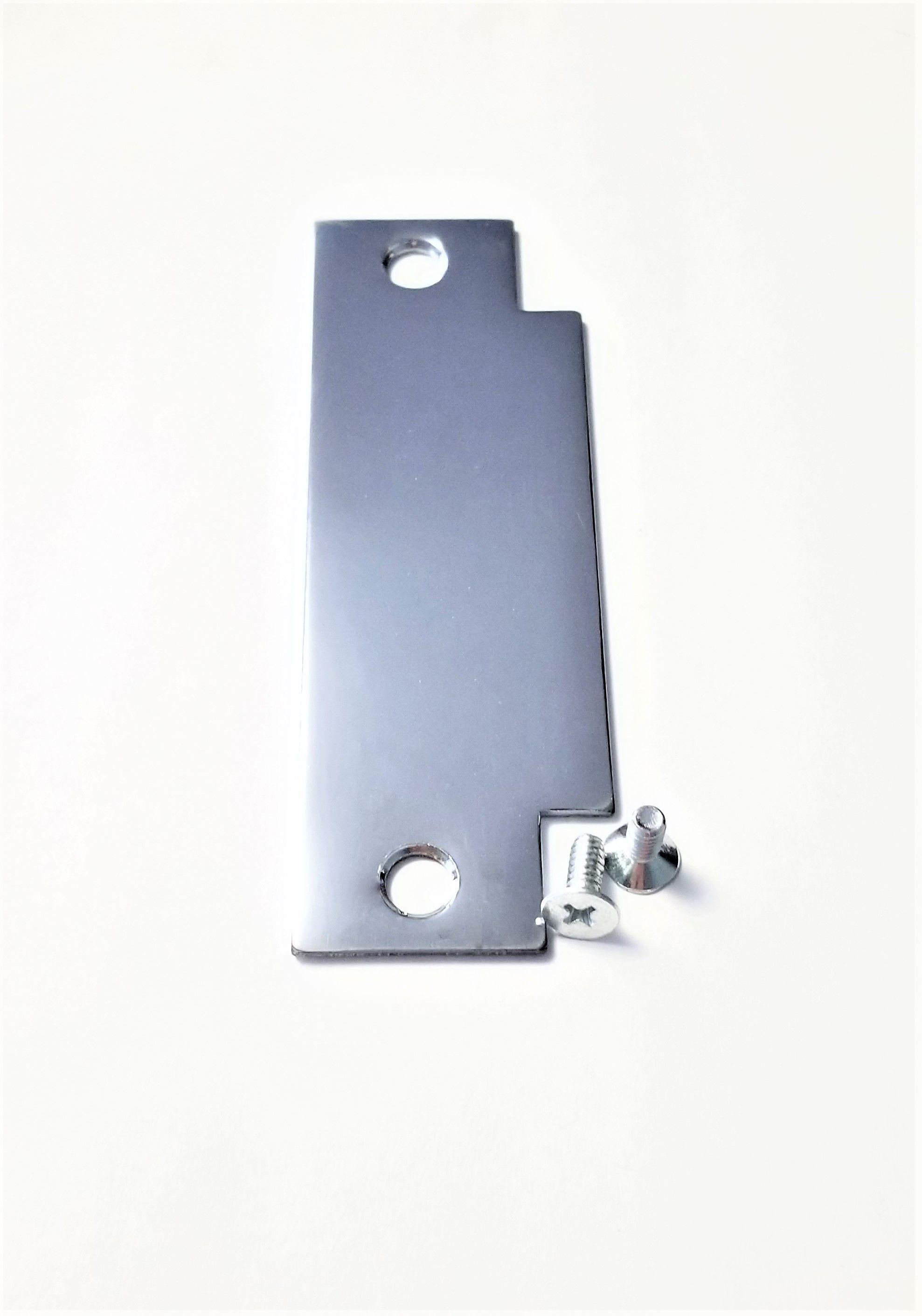 Filler Plate By Tuff Strike Securely Covers Removed Strike Plates Tuffstrike Doorhardware Diy Doorsecurity Door Reinforcement Security Door Door Hardware