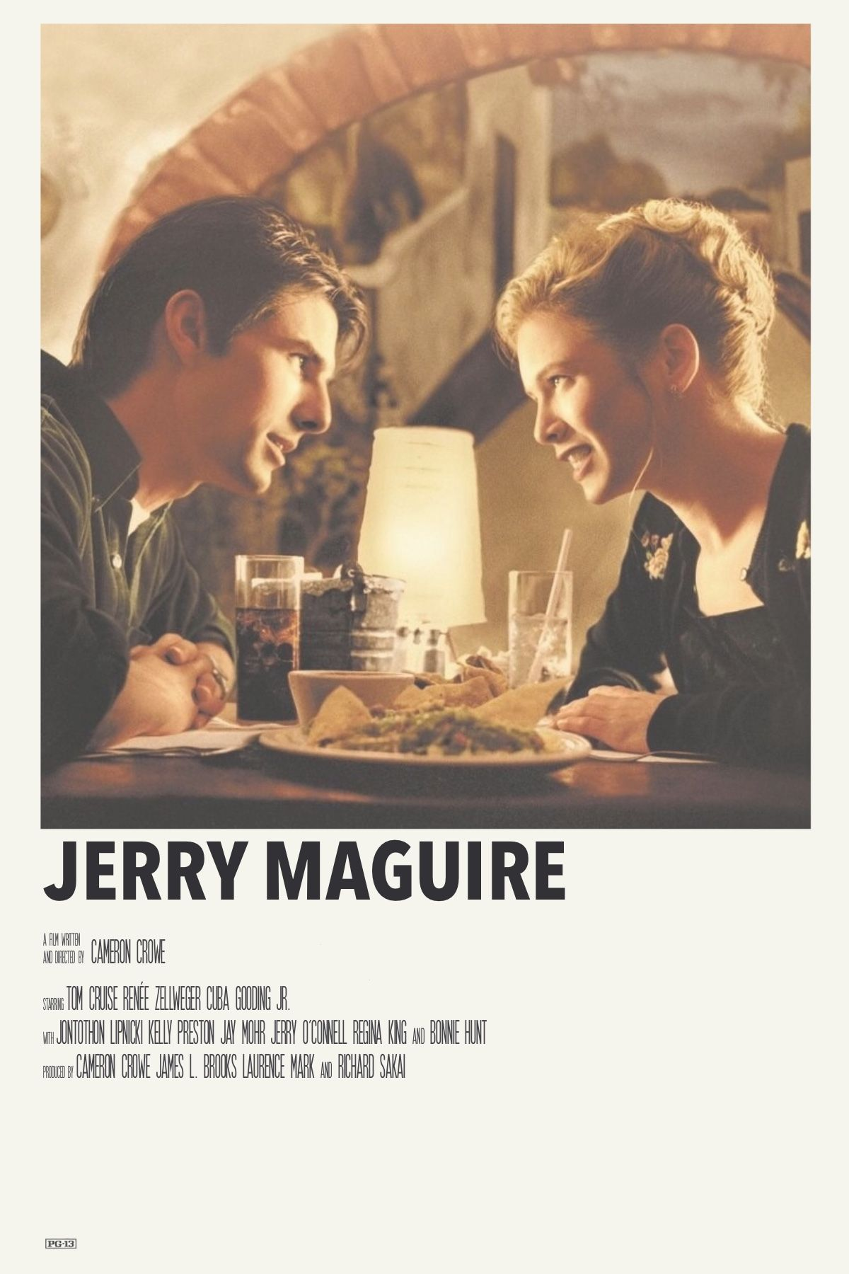 Jerry Maguire By Priya Movie Poster Wall Poster Movie Posters