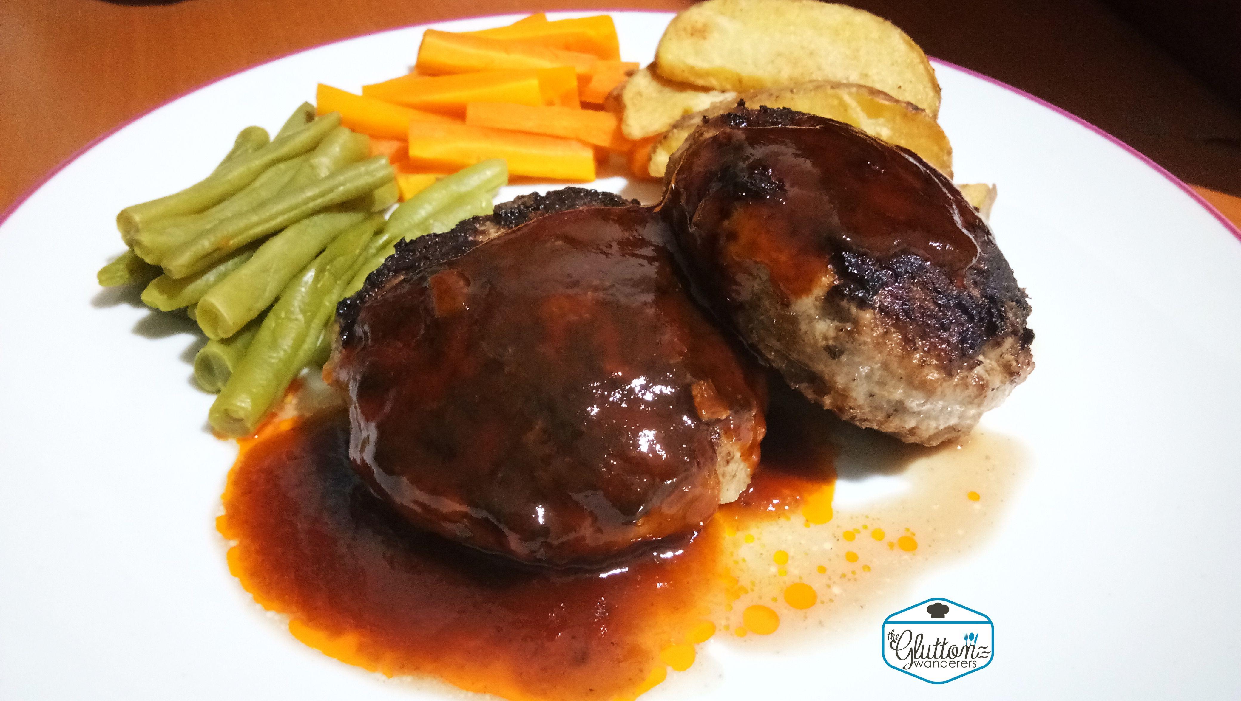 Hambagu Japanese Hamburger Steak Glutton Recipe Resep Makanan Hamburger Resep