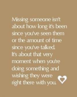 Missing someone isn't about how long it's been.. | Buckle up, Bitch