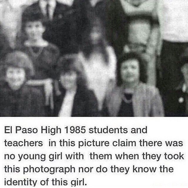 Who remembers their high school pictures? #ghost #scary