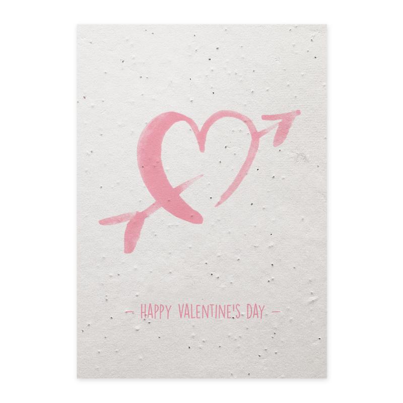 Verras je lief met een bijzondere Valentijnskaart die na ontvangst geplant kan worden. Zo blijft jullie liefde elke dag groeien. Met aandacht voor elkaar en de natuur samen genieten.