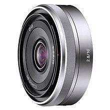 Buy Sony SEL-16F28 Pancake Lens Online at johnlewis.com