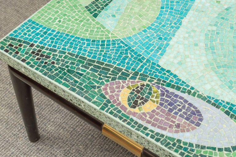 Mid Century Modern Mosaic Coffee Table From Www 1stdibs Com
