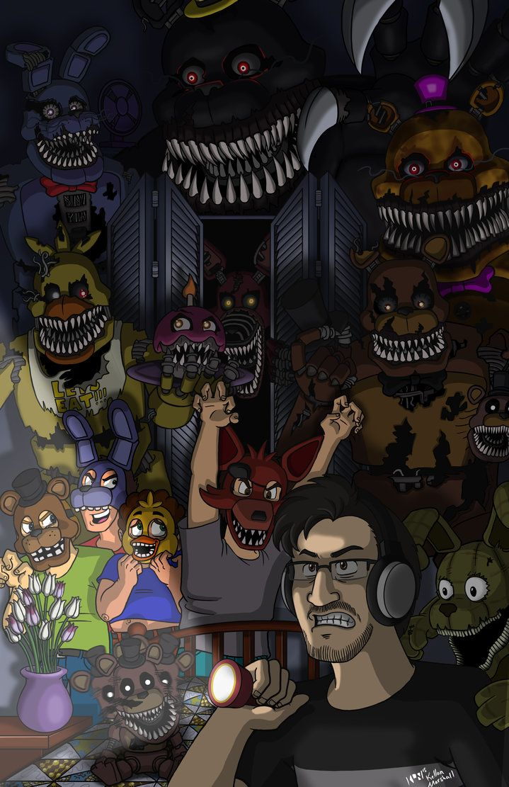 The Hero that Horror Deserves (FNAF4) by BallBots on DeviantArt