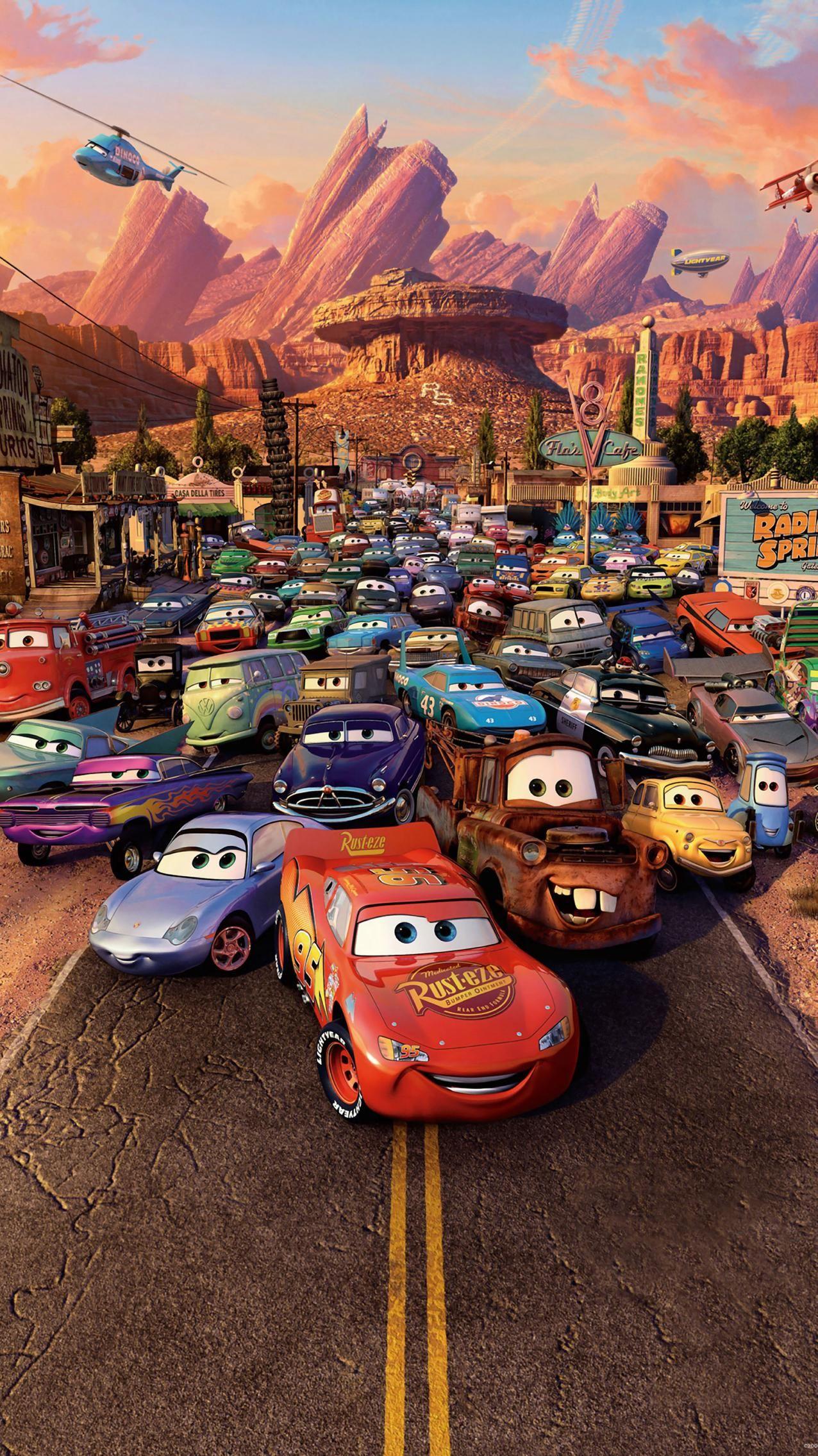 Cars (2006) Phone Wallpaper | Moviemania