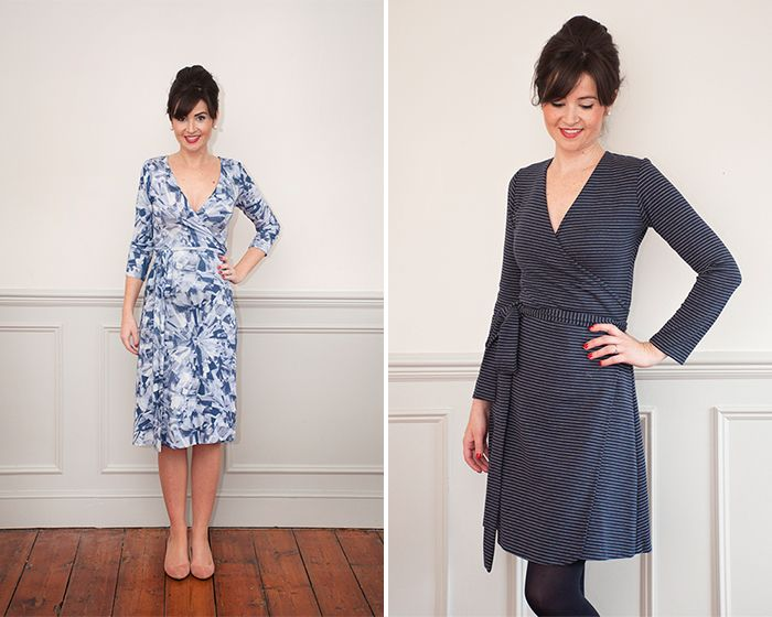 Ultimate Wrap Dress PDF Sewing Pattern | Clothing. | Pinterest