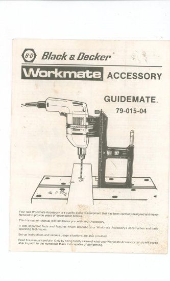 Fine For Your Enjoyment Is This Nice Manual Titled Black Decker Machost Co Dining Chair Design Ideas Machostcouk