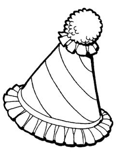 sapato de palhaço para pintar