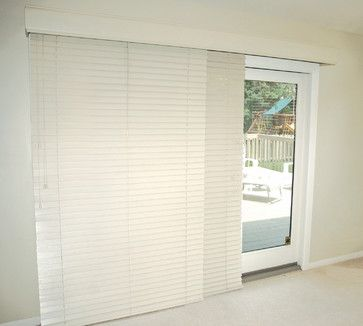 Glider Blinds Track System For Horizontal Blinds Window Treatments