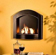 Most people enjoy sitting by a fireplace. It evokes a feeling of coziness and warmth