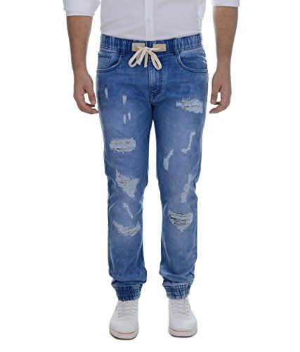 Regular Fit Denim Jogger for Men. It is made of denim and it is light afc7aad2b6b24