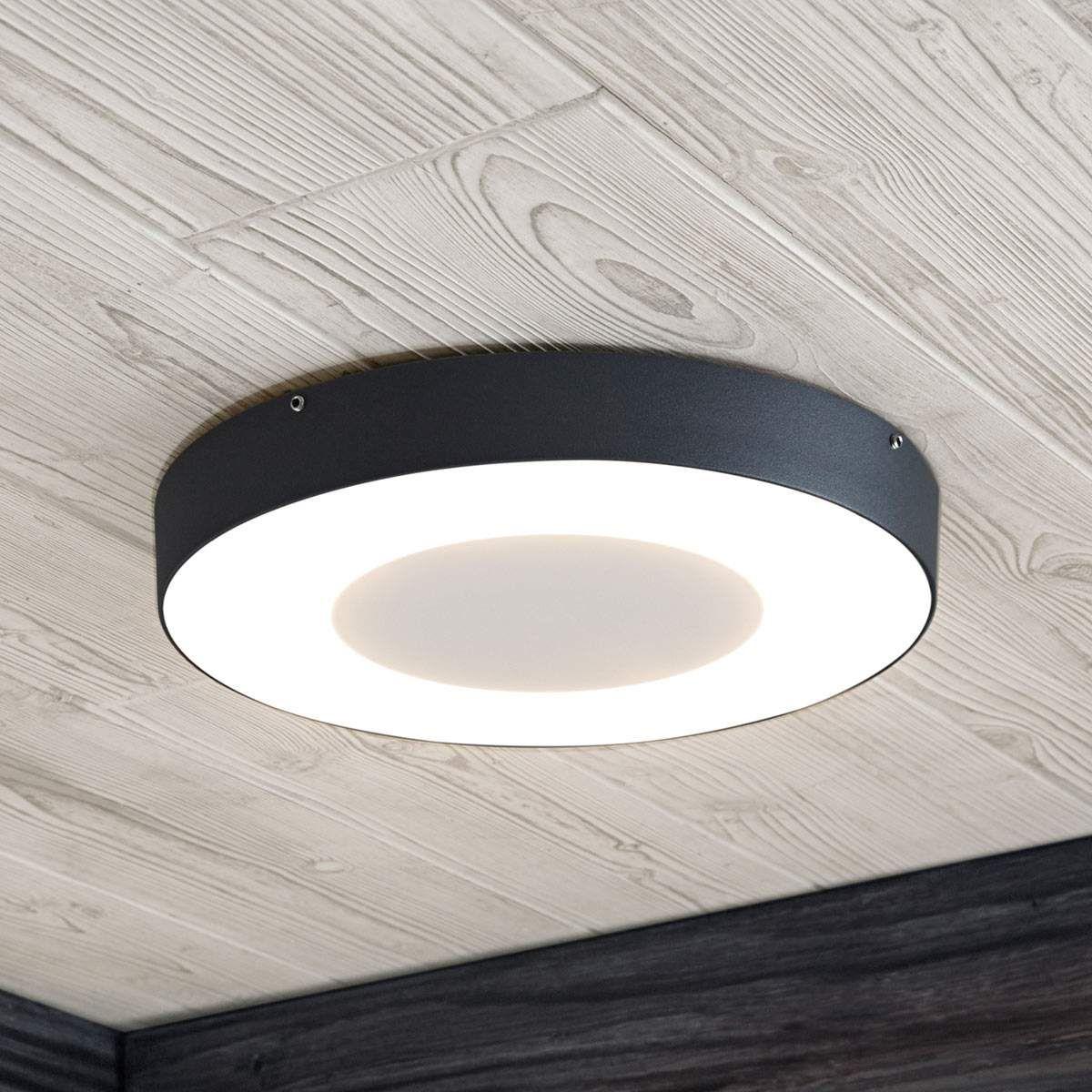 Led Aussendeckenleuchte Sora Rund Lampen Aussenlampen Leuchtstoffrohre