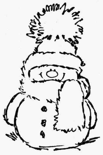 Cute Snowmen Free Printable Coloring Pages Snowman Coloring