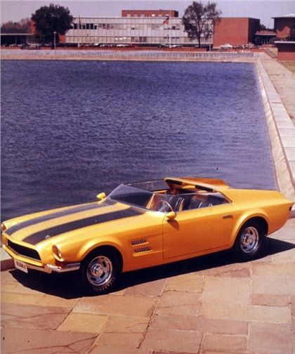 1967 Ford Allegro Ii Roadster Concepts Ford Mustang Classic Ford Mustang Concept Cars