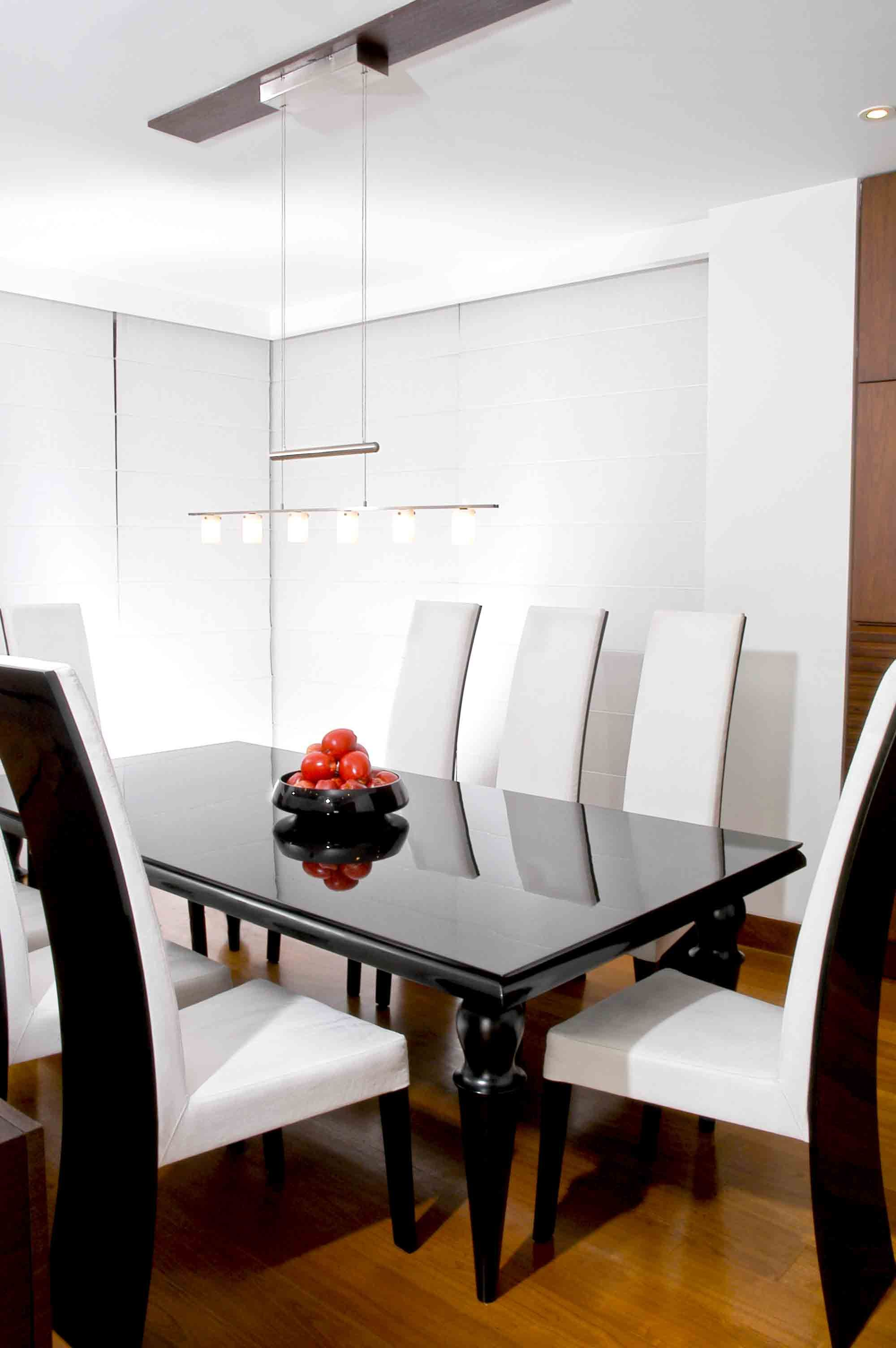 Thin & tall chairs for a classic dining table by Fernando Garcia www ...