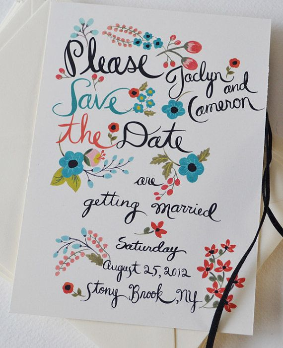When Do I Send Out Wedding Invitations: Vintage Wedding Invitations