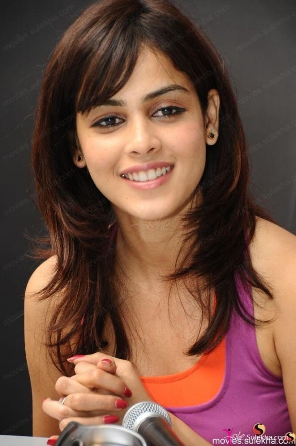 Genelia Dsouza Hairstyle Genelia Dsouza My Favourite Actress
