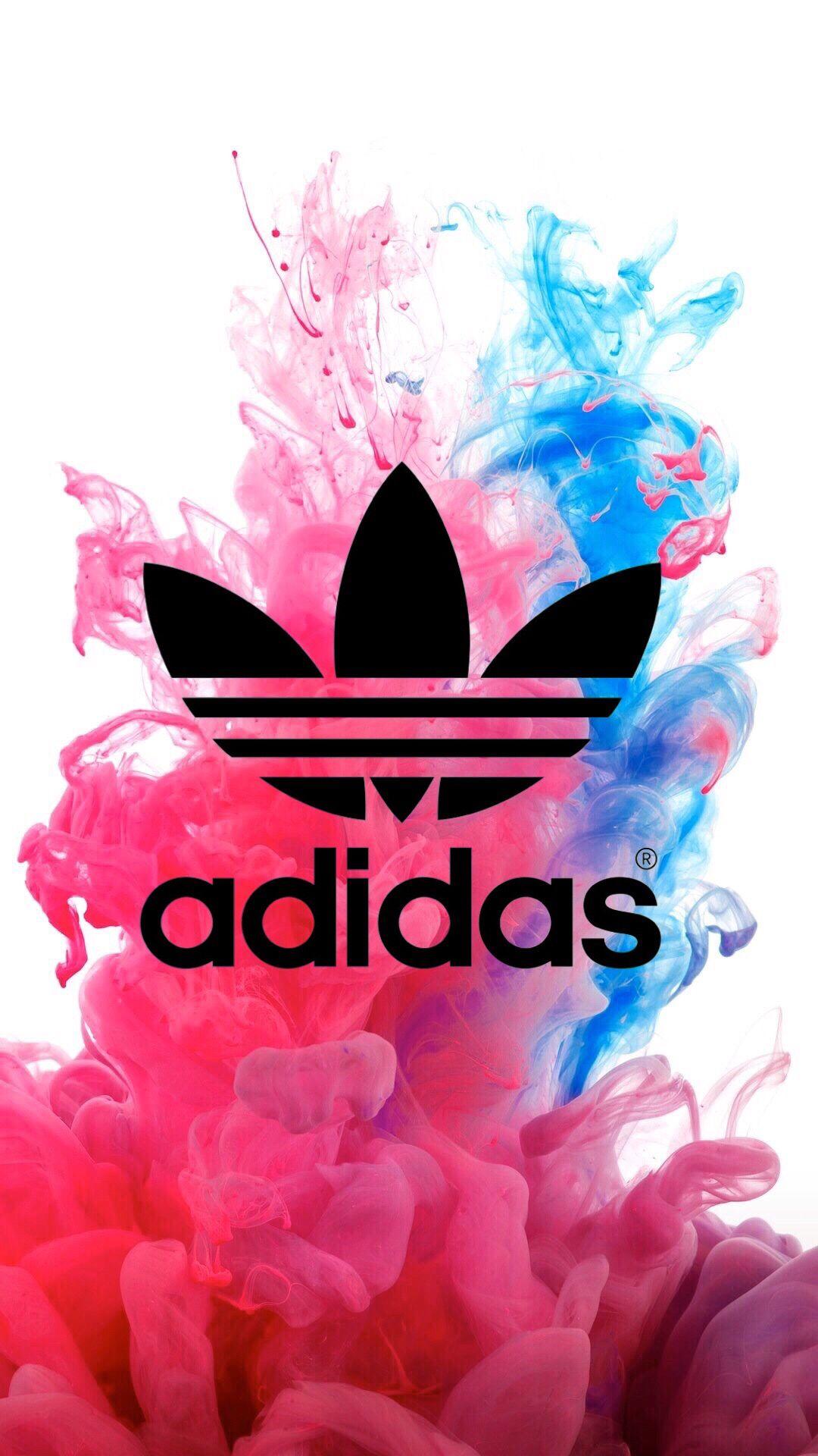 Adidas Sfondi Colorful Rosa Blu Sfondi Iphone Sfondi Twitter Sfondi Android