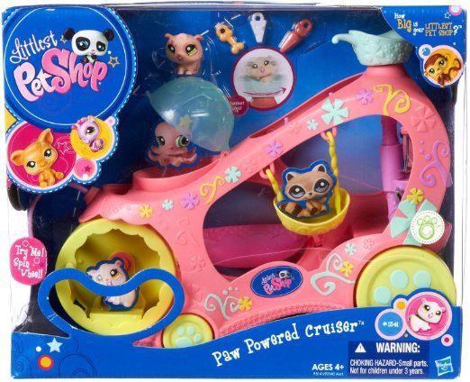 Amazon Com Littlest Pet Shop Pet Vehicle Lps Toys Games