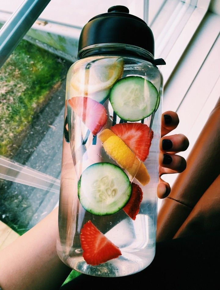 To be vsco put fruit in your water also some fruit helps with clear skin and oth…
