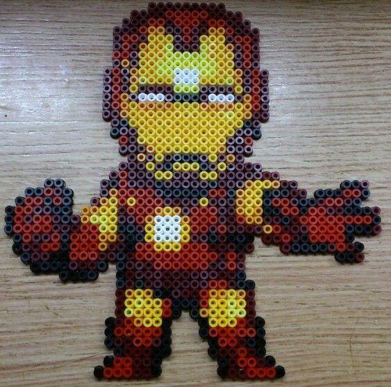 iron man iron on beads - Recherche Google
