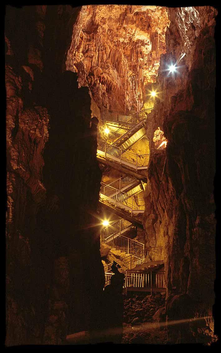 La grotta gigante.