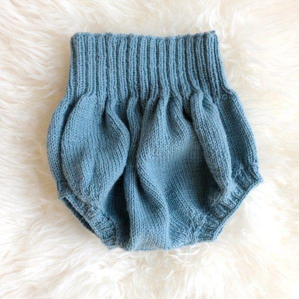 Bluum ballong-bukse - gratis strikkeoppskrift. - Bluum