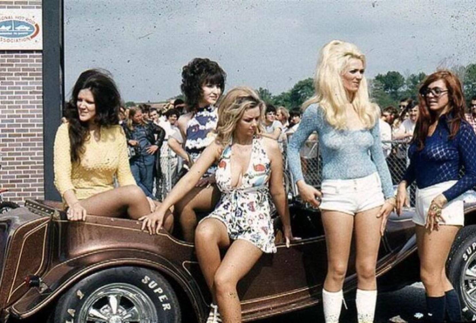 Mayhem by Frank Salaman | Hotrod girls