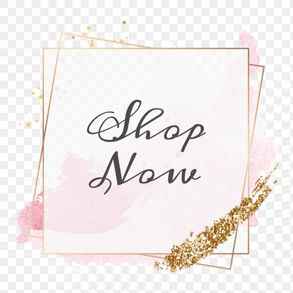 Shop Now Png Feminine Frame Free Image By Rawpixel Com Aum Free Illustrations Word Art Typography Free Png