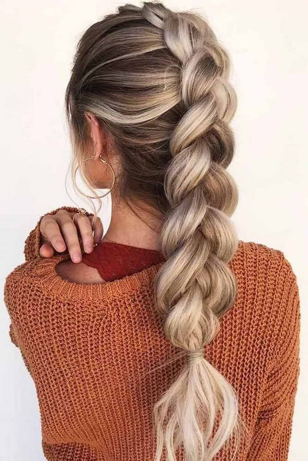 10 Easy Braid Hairstyles For Long Hair That Are Actually Cool We Swear In 2020 Hair Styles Braided Hairstyles Long Hair Styles