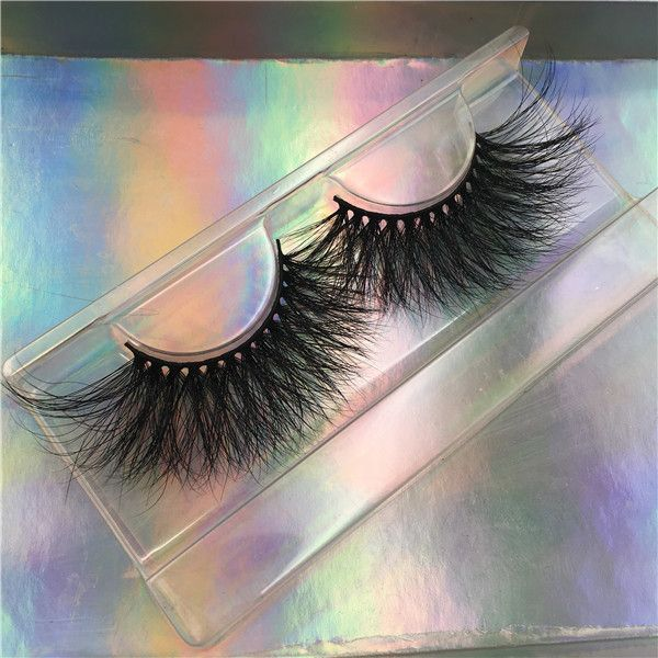 Photo of Wholesale 3D Mink Lashes Vendor USA 25mm Siberian Mink Strip Lashes