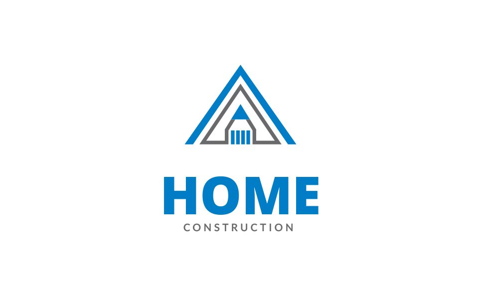 home construction logo template design pinterest logo