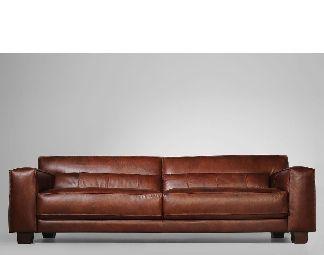 30043 moderní kožená sedací souprava