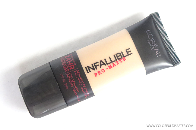 REVIEW: L'Oreal Infallible Pro Matte Foundation