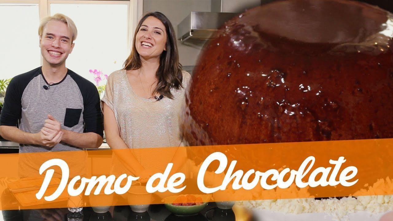 Domo De Chocolate Receita Do Bake Off Brasil Espetinhos De