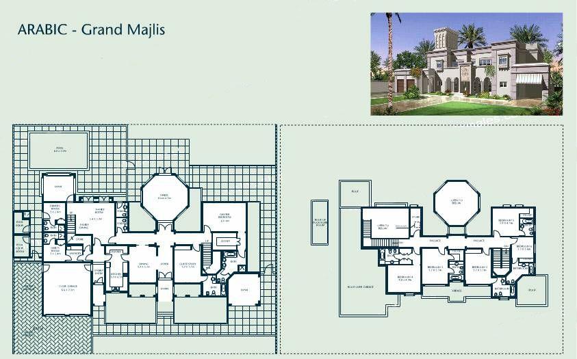 The Detailed Information On A Building Signature Villa Villa Plan House Exterior Villa
