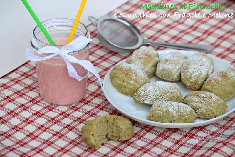 madelines con ricotta e pistacchio http://giornisenzafretta.blogspot.it/2014/06/madelines-con-ricotta-al-pistacchio-e.html