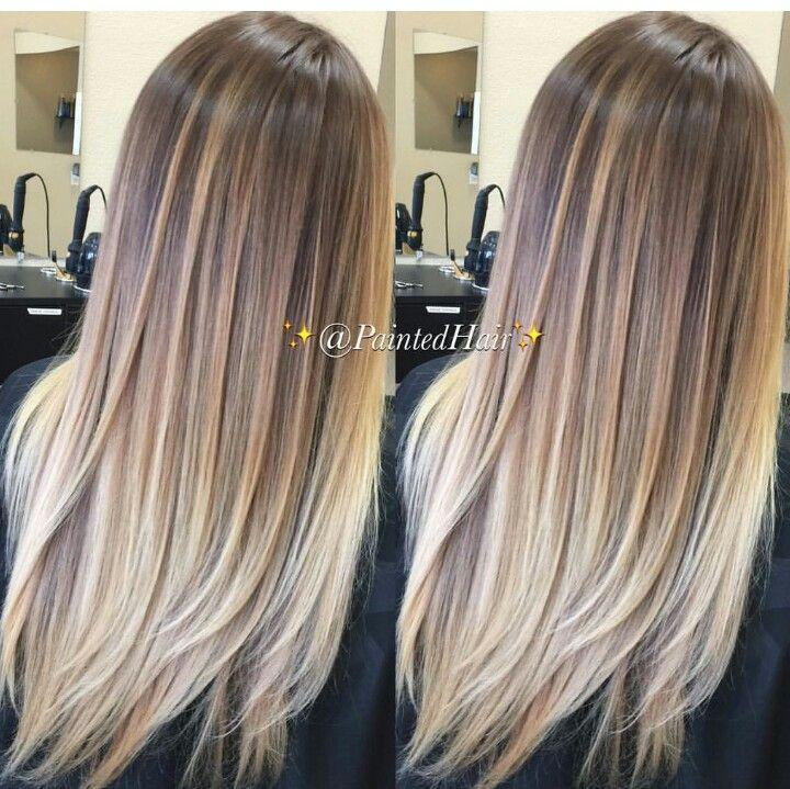 Bronde Color Melt Hair Pinterest Hair Balayage And Hair Styles