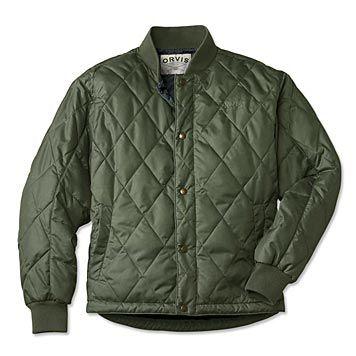 Mens Packable Hunting Jacket Quilted Primaloft Jacket Orvis