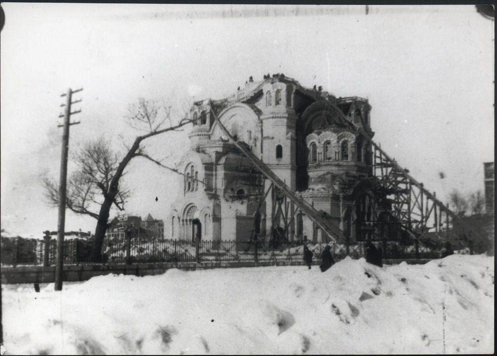 фото старого оренбурга до и после